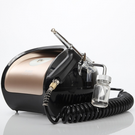 Super silent no noise high pressure high air-flow stable quality nice look airbrush compressor